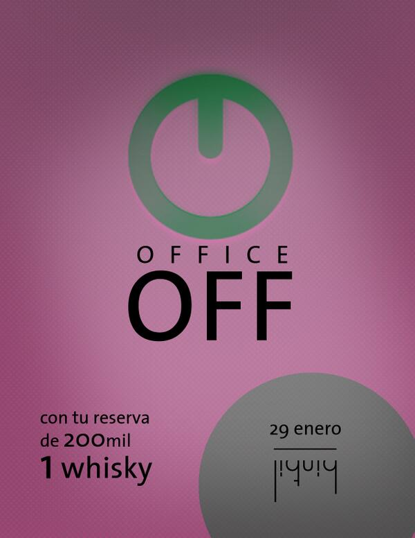¡Que la semana sea más liviana con una botella de whisky de cortesía! http://t.co/YAjOqpZ955
