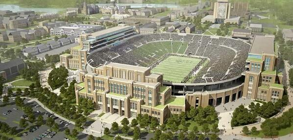 #NotreDame announces construction project to integrate the academy, student life & athletics: http://t.co/Den78wiCKg http://t.co/qPtTbmk41i