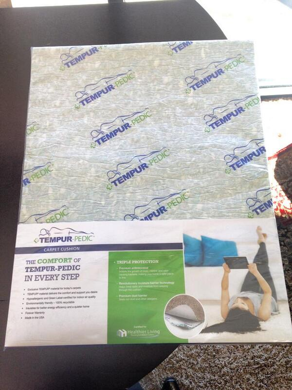Tempurpedic Carpet Pad Lets See Carpet New Design