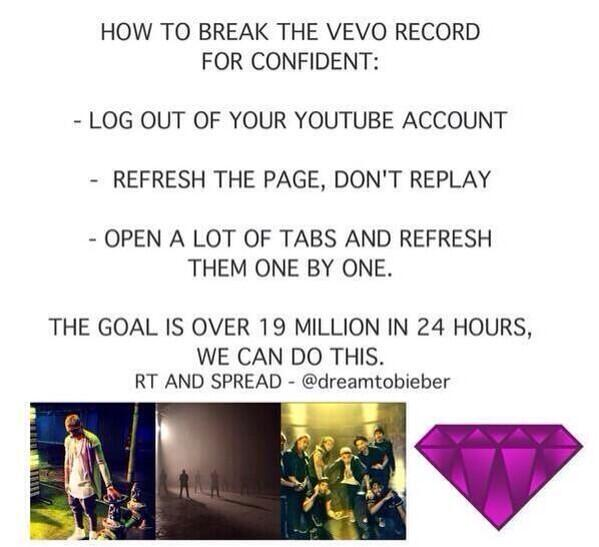 Justin's last music video as a teenager. Let's do him proud. #ConfidentVideoTODAY http://t.co/FgTzt23kgK