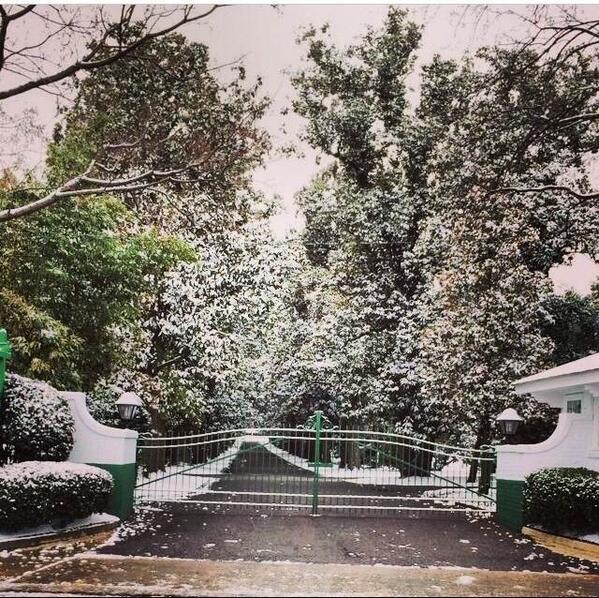 "RICHARD ROGERS On Twitter: ""Magnolia Lane At Augusta"