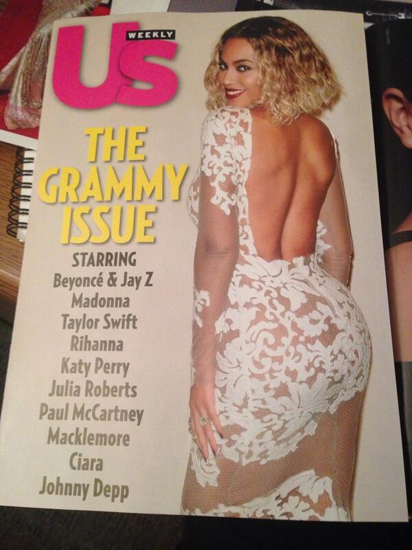 The GRAMMY ISSUE! Starring #beyonce @tytryone @mcostello #michaelcostello #lorraineschwartz today in @usweekly http://t.co/M8n6SUo8Fl