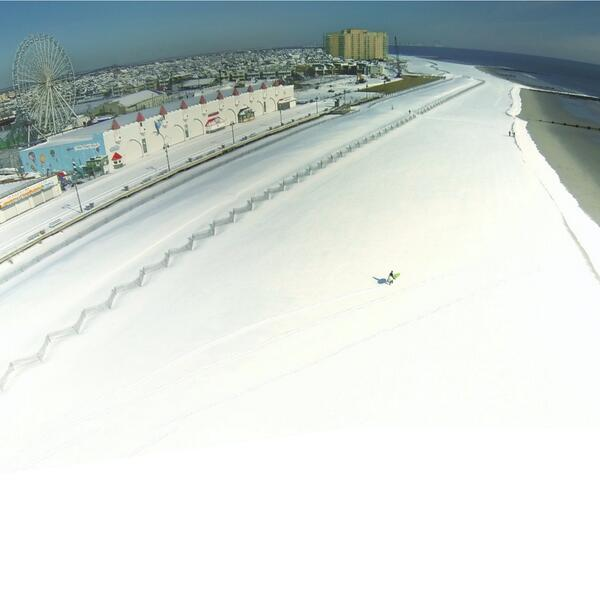 Aerial view of Ocean City this morning through the lens of @J_Grays after last nights snow storm #nbc40photo http://t.co/J4rEA6GlAk