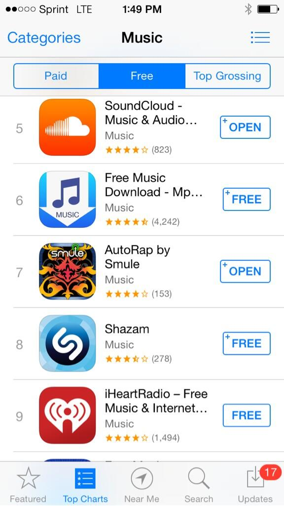 Twitter / An0malyMusic: AutoRap by @Smule now #7 in ...