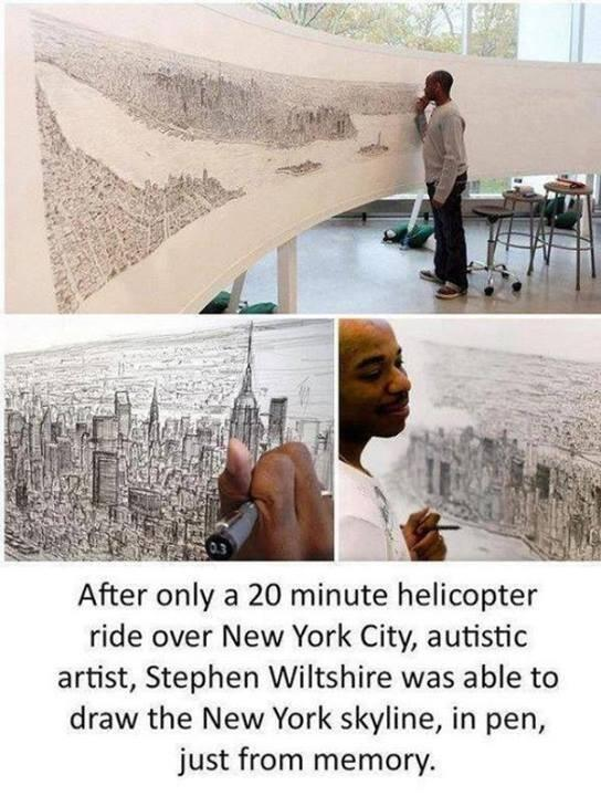 Amazing RT @Fact: This guy is one of the best artists in the world: http://t.co/lF9hknXAMd