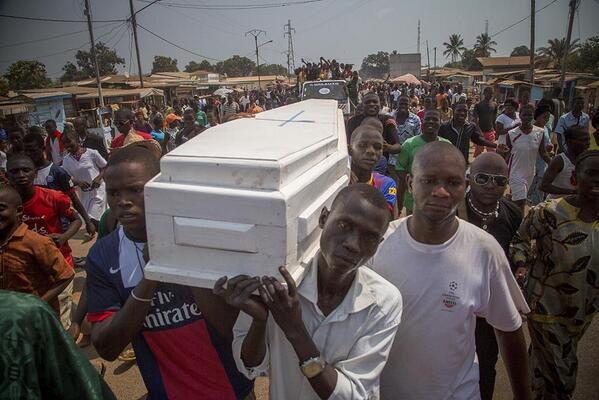 Funeral of young boy died not by bullet or gun, but the lack of access to medication. The worst killer. #CARcrisis http://t.co/aHtfDuiDxy