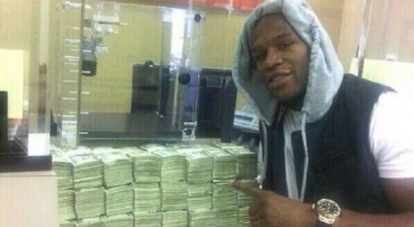 Floyd Mayweather is betting $10.4M that the Denver Broncos will win the Super Bowl
