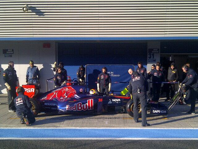 Vergne Toro Rosso  STR9