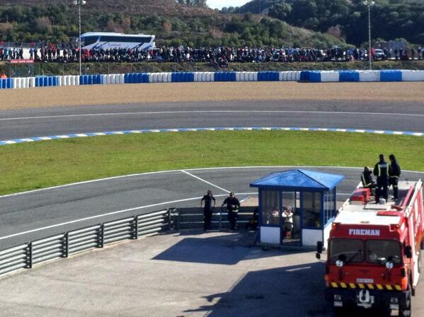 Jerez tribune test f1