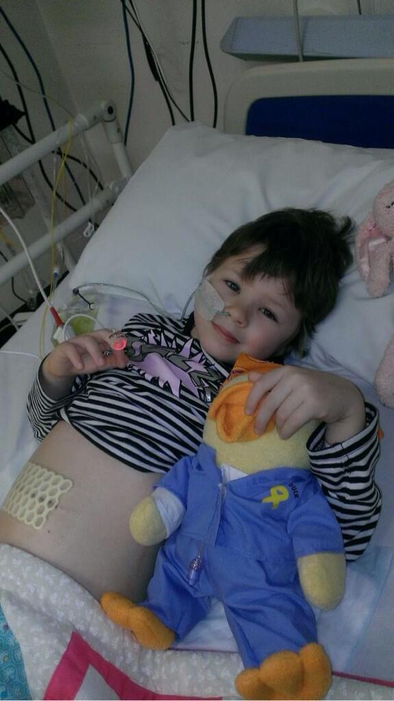 RT @FrajaAppeal: @NolanColeen let's get Fraja's story out there 💗 please RT #frajaappeal#neuroblastoma http://t.co/8iljToPCAN