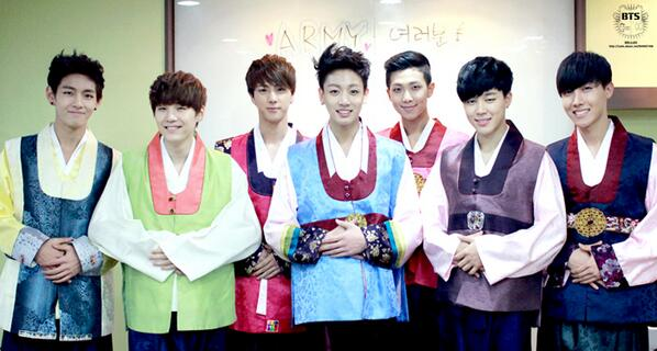 Picture/Fancafe] BTS Staff Diary New Years Special Greetings with ...