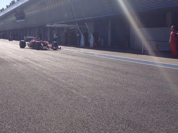 Alonso F14 T Jerez