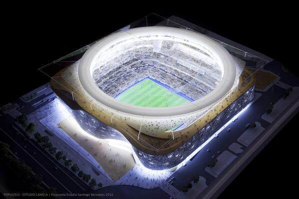 Projects new Santiago Bernabeu proyectos nuevo Real Madrid