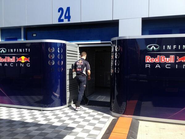Problemi per la Red Bull a Jerez