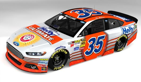 If you like this #NASCAR paint job, please consider giving the great folks at @HeftyBrands & @ReynoldsWrap a follow! http://t.co/vyhm3uy4h6