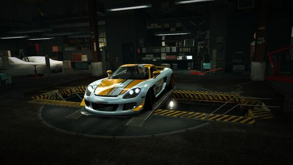 It's #TweetItUpThursday! I just entered to win a Porsche Carrera GT (Ultra) from @NFSWorld! RT to enter #NFSWorld http://t.co/Tc61Qa4M1Y