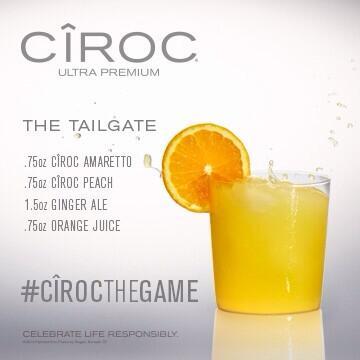 Mixed Drinks Using Peach Ciroc