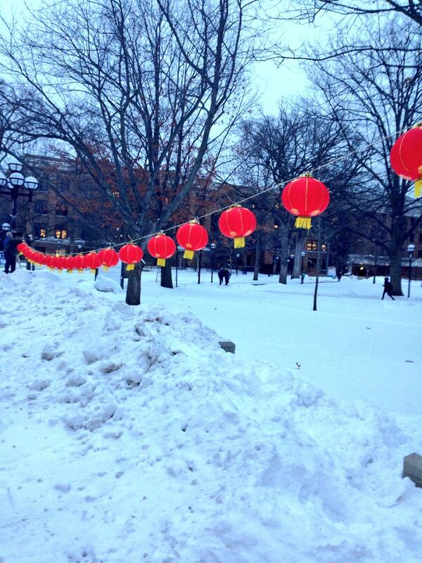 @a2chronicle Diag. Students putting up lanterns to celebrate Chinese New Year. http://t.co/gHBygDSKVY