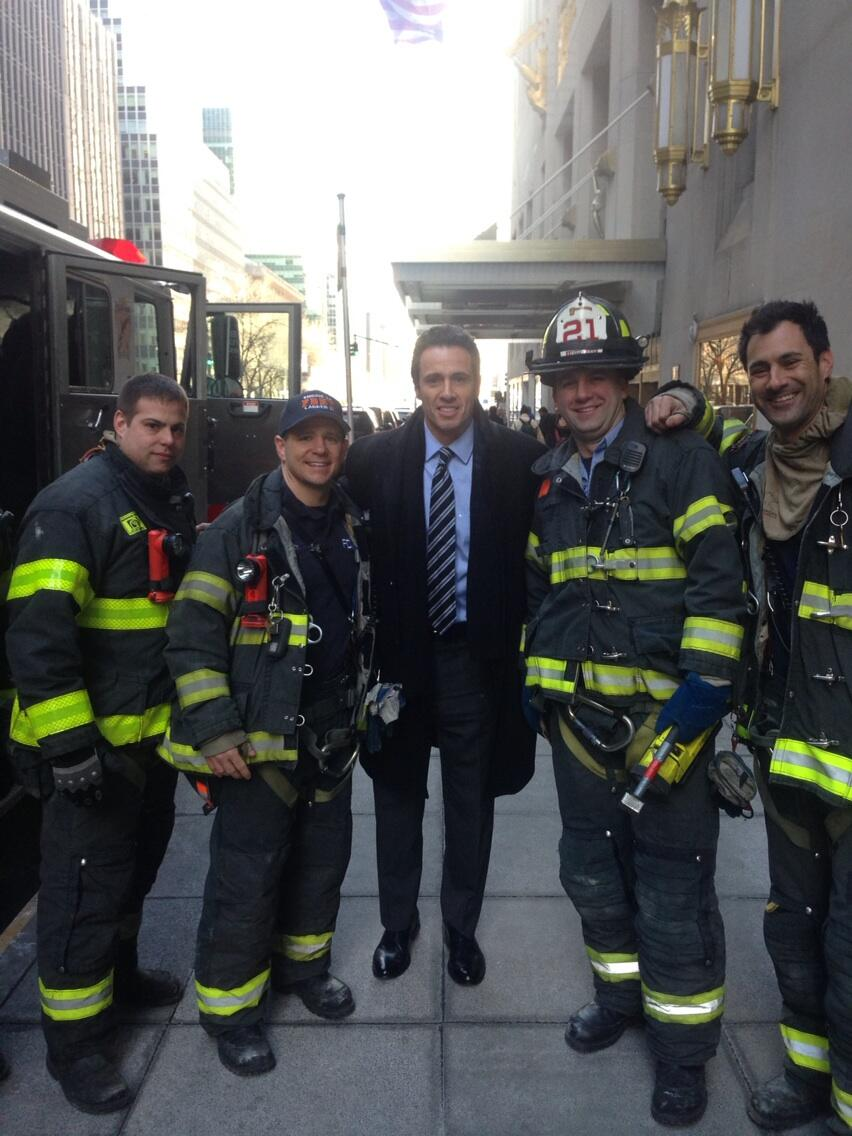 Twitter / ChrisCuomo: The best kind of NY'ers. Facing ...