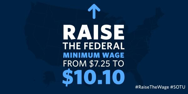 "RT if you agree with President Obama: ""Tell Congress to make this happen. Give America a raise."" #RaiseTheWage, http://t.co/IgmzRPOrc4"