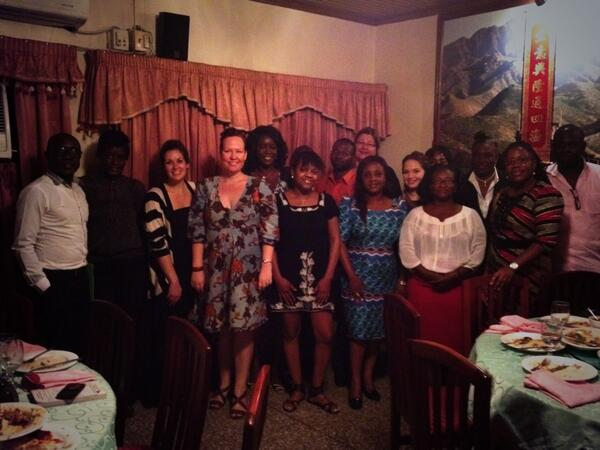Glad @BloggingGhana was there MT @Kajsaha best journalists @ meal for @ECAatState fellows-Thnx for great discussions! http://t.co/uDjrNx47Yf