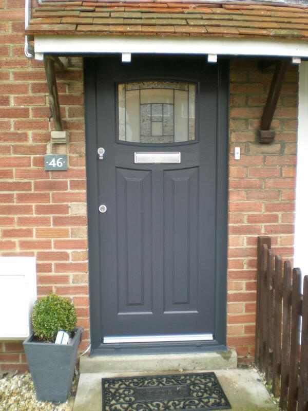 Rock solid doors ltd on twitter an all grey newark for Upvc front door 78 x 30