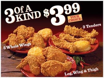 Popeyes Chicken On Twitter This Month Is All About Choice Choose From 3 Options Of 3 Pieces For Just 3 99 Now To Choose Mild Or Spicy Http T Co Hzeiohtvck
