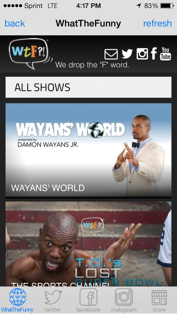 Go to http://t.co/rZZzsOmsPT to watch B.T.A.N starring @wayansjr and @HowardAlonzo NOW!! @WhattheFunny http://t.co/XEV171Lb6H