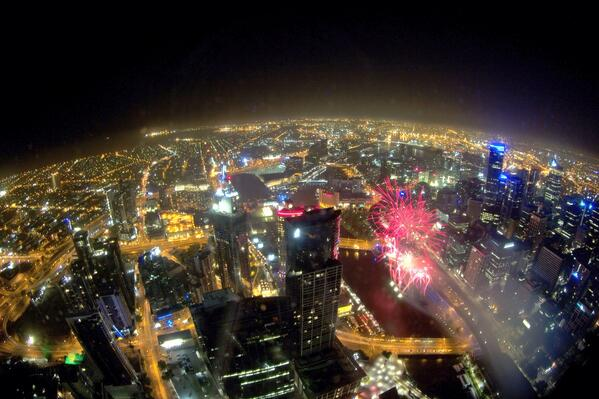 Happy Lunar New Year from the @Eureka_Skydeck! Great Fireworks last night! @thats_melbourne @Melbourne #Melbourne http://t.co/gG736DZXtq