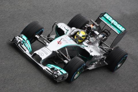 Rosberg con Mercedes
