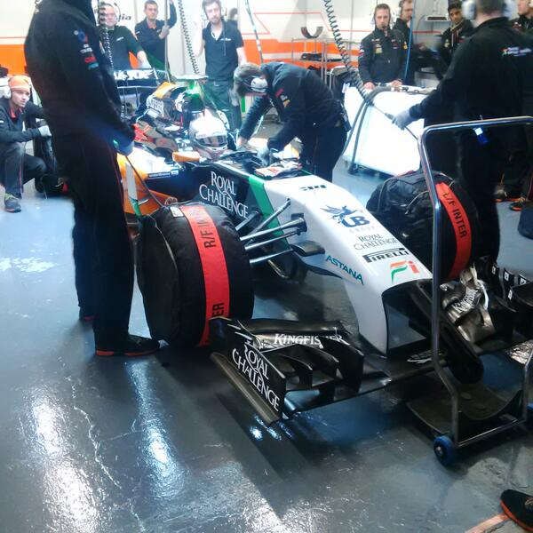Force India - Juncadella