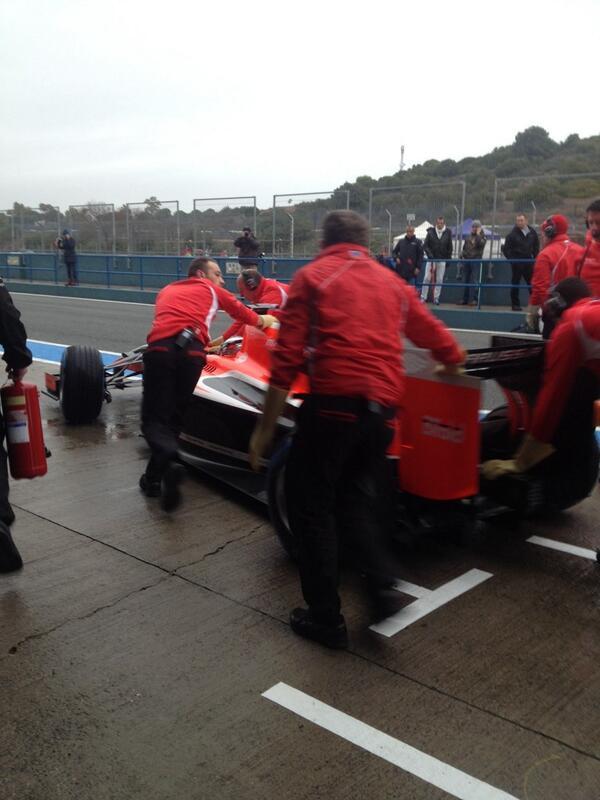Marussia MR03 - Jules Bianchi