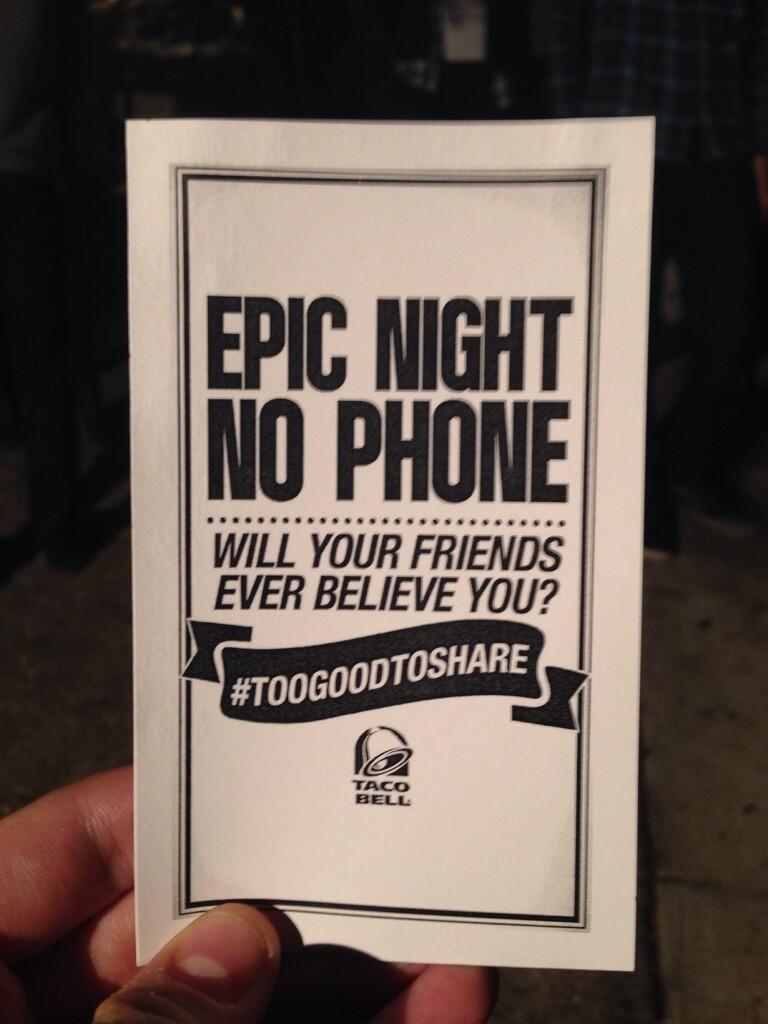 Twitter / TacoBell: All good things must come to ...