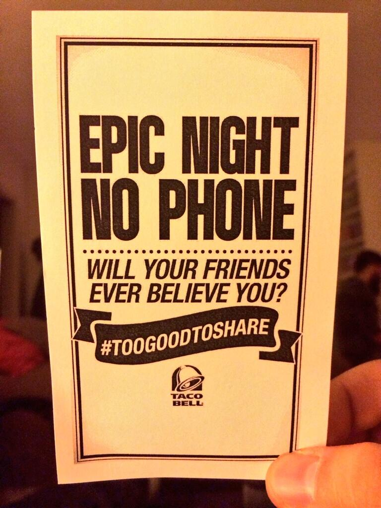 Twitter / stevezaragoza: Had a #BAJABLAST at the @TacoBell ...