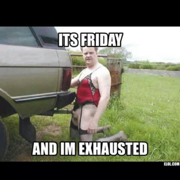 """I M So Happy Its Friday: Joey Taylor On Twitter: """"Its Friday And Im Exhausted. Http"""