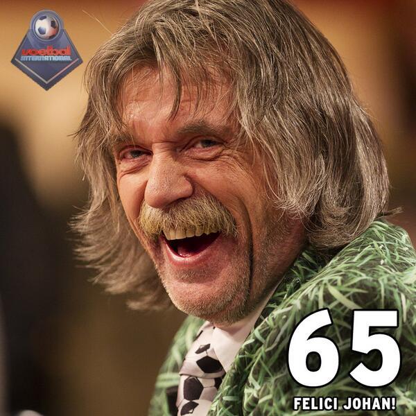 Feest! Johan is vandaag exact 65 jaar! RT voor een felicitatie #VITV http://t.co/ynaQUqoQ74