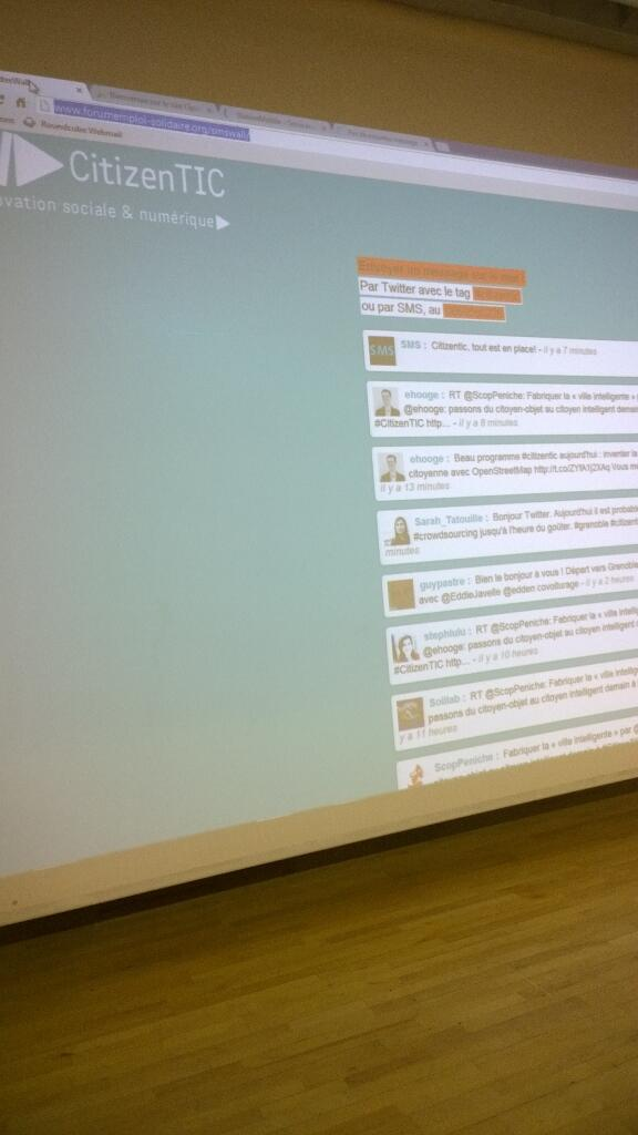 RT @thomasgroc #citizentic c'est parti pour citizentic made in #Grenoble :-) http://t.co/HJV2Ao41zV #DigiGre