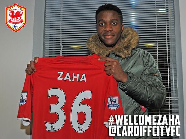 BREAKING: #CardiffCity complete loan deal for @ManUtd winger @wilfriedzaha. #WelcomeZaha #DeadlineDay