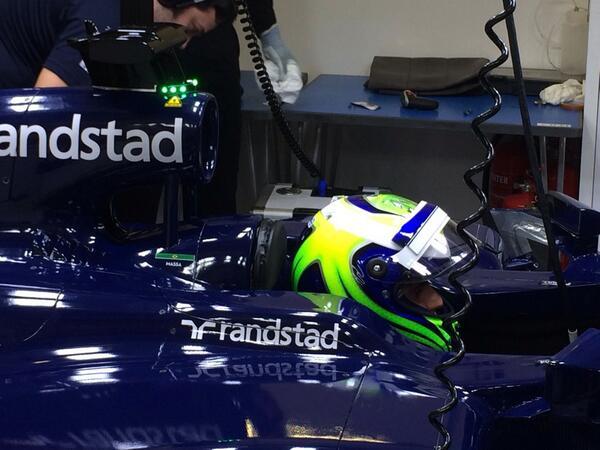 Massa con la Williams