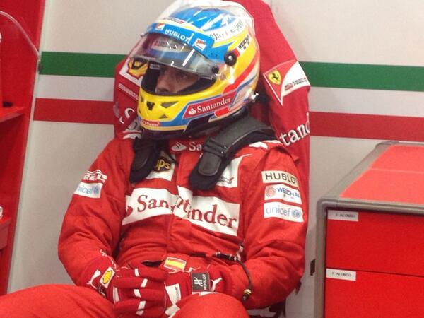 Alonso pronto