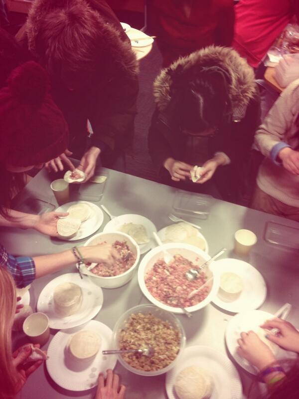 dumpling making competition!