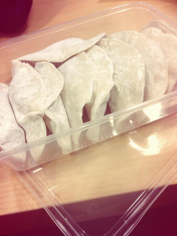 dumplings I made~