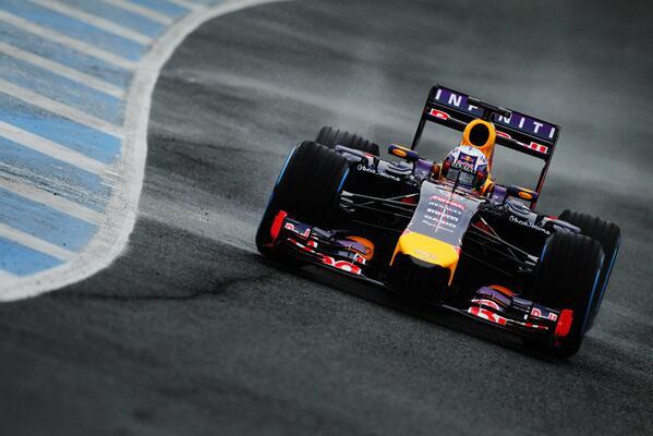Red Bull fine test