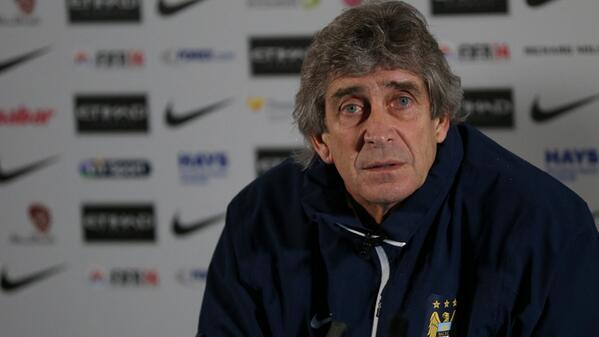 Man City boss Manuel Pellegrini confirms striker Sergio Aguero ruled out for a month [video]