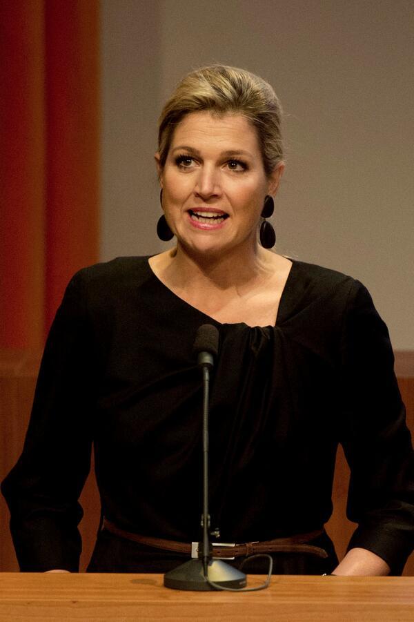 Koningin Máxima: 'Doorgroeien van starters is cruciaal': http://t.co/dVSPcyObyZ http://t.co/5rezEcRH6L