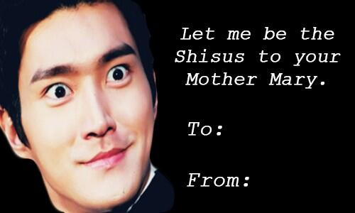 Kpop Valentine Cards On Twitter Siwon S Romantic Proposal What