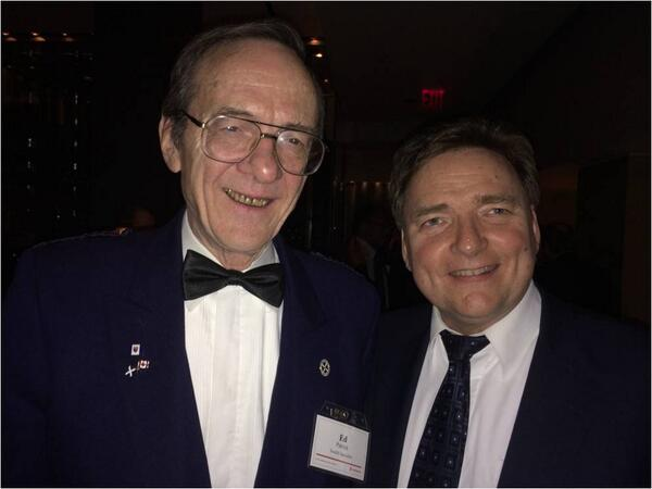 Had a great time at Scotiabank's 16th annual Robbie Burns Dinner last night. Scotch expert Ed Patrick was also there.