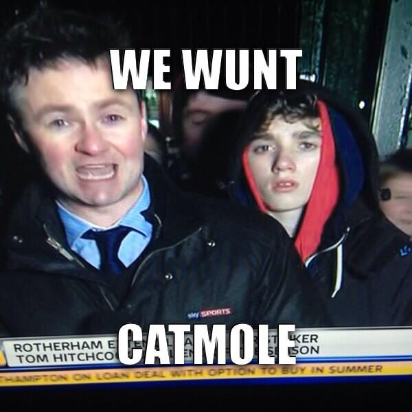 Feral hooded youths surround Sky reporter as Lee Cattermoles move to Stoke falls through [Pictures]