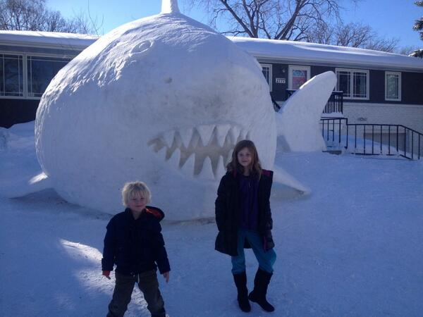 My kids in Minnesota today. Not doctored. http://t.co/lUXgyQxWUU