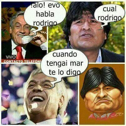 Piñera habla con Evo jajaja http://t.co/KNDf9U2WLc